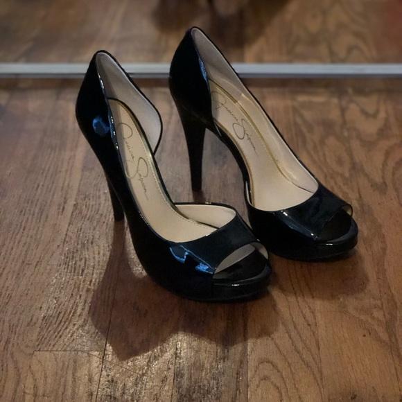 Jessica Simpson Shoes - Jessica Simpson Cian open toe d'orsay pump